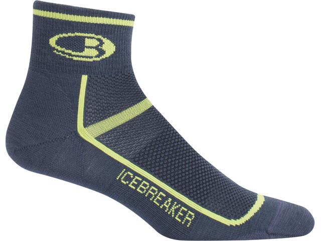 Icebreaker M's Multisport Ultra Light Mini Socks oil/citron